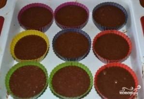 Шоколадные кексы в формочках - фото шаг 7
