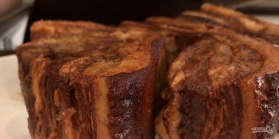 Сало в луковой шелухе (просто и вкусно) - фото шаг 4