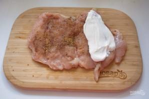 Куриная грудка с беконом - фото шаг 3