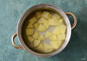 Суп с чечевицей и лисичками - фото шаг 2