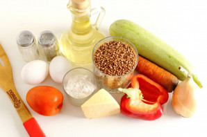 Гречневая запеканка с овощами - фото шаг 1