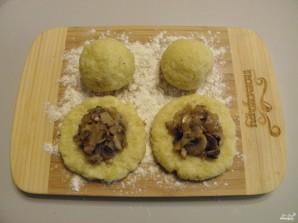 Зразы картофельные с грибами - фото шаг 7