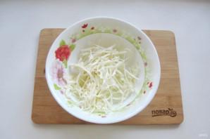 Салат из свеклы и красной рыбы - фото шаг 2