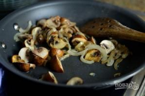 Фриттата из шпината и грибов - фото шаг 7