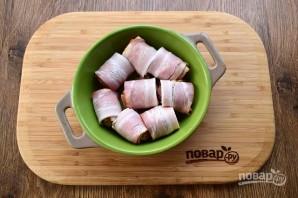Фрикадельки с беконом в сливочно-томатном соусе - пошаговый рецепт с фото на