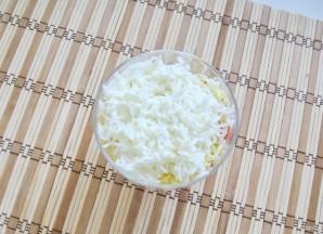 Салат с яйцами, сыром и помидорами - фото шаг 5