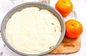 Бисквит с мандаринами - фото шаг 5