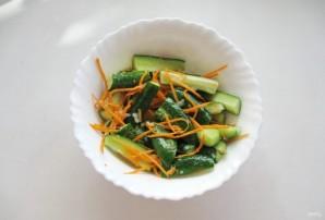 Огурцы в пикантном соусе - фото шаг 10