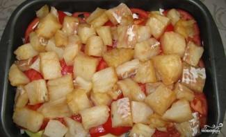Судак с картофелем - фото шаг 2