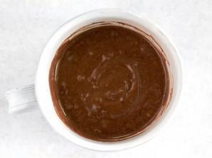 Шоколадный десерт в чашке - фото шаг 2