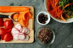 Салат из киноа с овощами - фото шаг 2