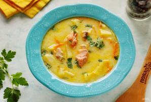 Сырный суп из горбуши - фото шаг 9