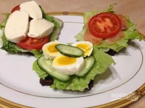 ПП-бутерброды на перекус - фото шаг 8