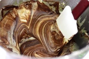 Клубника с шоколадным муссом - фото шаг 2