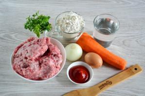 Ленивые пельмени на сковороде - фото шаг 1