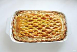 Дрожжевой пирог с абрикосами - фото шаг 10
