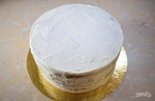 Банановый торт со сметанным кремом - фото шаг 8