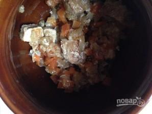 Гречка в горшочке с мясом - фото шаг 7