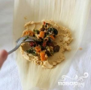 Вегетарианское тамале - фото шаг 6