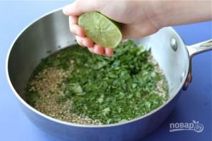 Салат с креветками и рисом - фото шаг 1
