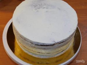 Торт с малиновым джемом - фото шаг 6