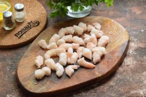 Тальятелле с креветками в сливочном соусе - фото шаг 3