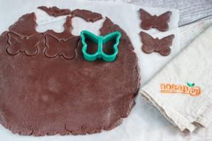 Шоколадное печенье - фото шаг 4