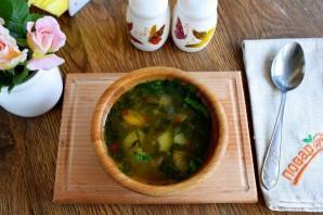 Суп из щавеля на курином бульоне - фото шаг 5