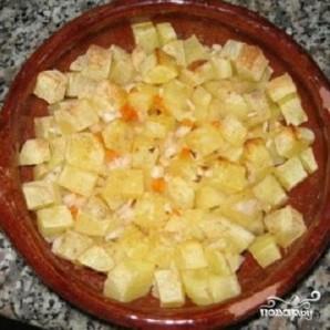 Картофельный суп-пюре с сыром - фото шаг 2
