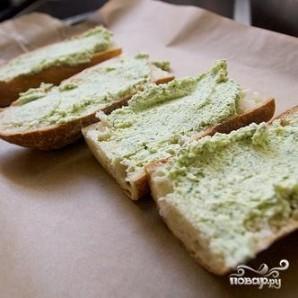 Бутерброды с креветками и сыром - фото шаг 6