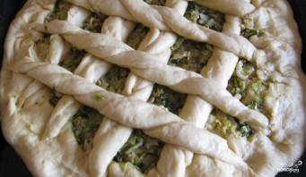 Дрожжевой пирог с капустой - фото шаг 17