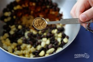 Салат с креветками и рисом - фото шаг 4