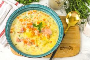 Суп из семги с молоком - фото шаг 8