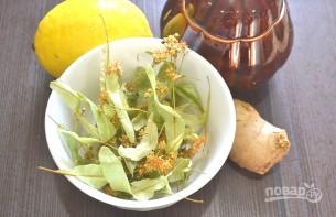 Липовый чай с медом - фото шаг 1