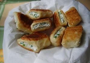 Пирожки с творогом за 5 минут - фото шаг 5