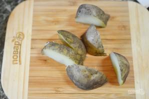 Теплый салат с картофелем и беконом - фото шаг 1