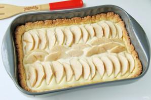 Королевский пирог с творогом и яблоками - фото шаг 11