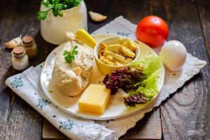 Салат с курицей и гренками - фото шаг 1
