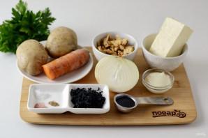 Вегетарианский салат на Новый год Быка - фото шаг 1