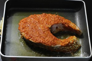 Жареная рыба в индийском стиле - фото шаг 2