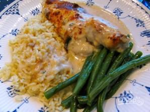 Курица со сметаной и рисом - фото шаг 6