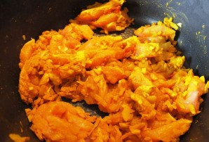 Курица карри с рисом - фото шаг 5
