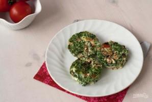 Маффины с помидорами и шпинатом - фото шаг 3