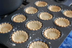 Закуска из тарталеток в микроволновой печи - фото шаг 1