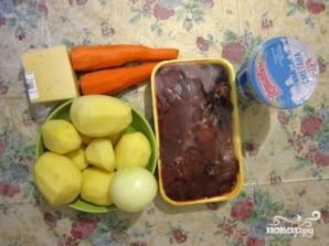 Запеканка картофельная с печенью - фото шаг 1