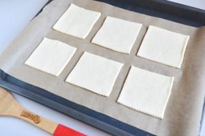 Горячие бутерброды из слоеного теста - фото шаг 6