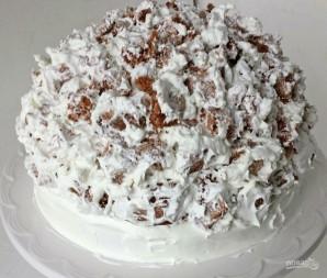 """Бисквитный торт """"Графские развалины"""" - фото шаг 19"""