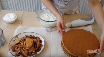 """Торт """"Медовик"""" (Рыжик) - фото шаг 11"""