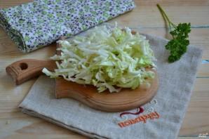 Маринованная капуста с овощами - фото шаг 3