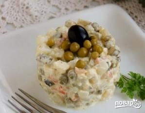 """Вегетарианский салат """"Оливье"""" - фото шаг 9"""